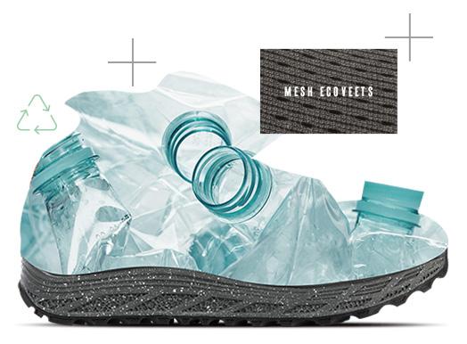 Mesh tissu ÉcoVEETS fabriqué à partir de bouteilles recyclées